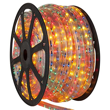 Multicolor rope light 150 ft 5 wire 120 volt 15mm steady multicolor rope light 150 ft 5 wire 120 volt 15mm aloadofball Gallery