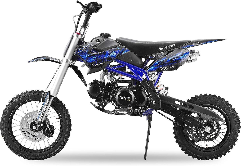 Nitro Motors Dirtbike 125cc Sky 14//12 mit Upside Down Gabel XXL Dirtbike Crossbike Pitbike