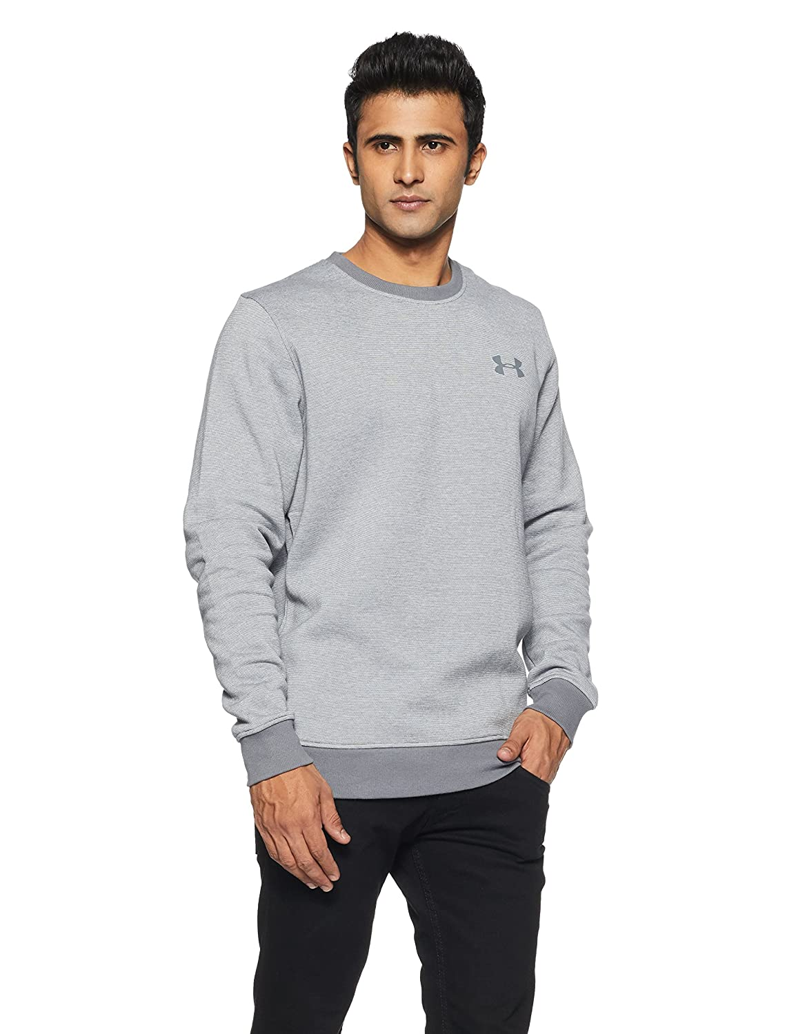 Under Armour Herren Rival Fitted Eoe Crew Oberteil