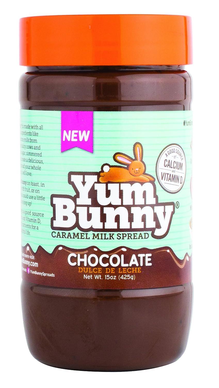 Amazon.com : Yum Bunny Dulce de Leche Spread, Chocolate, 15 Ounce : Grocery & Gourmet Food
