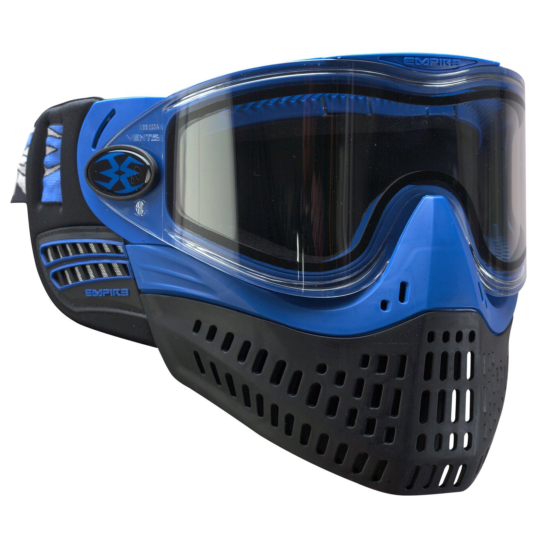 Empire Paintball e-Flex Goggle, Blue