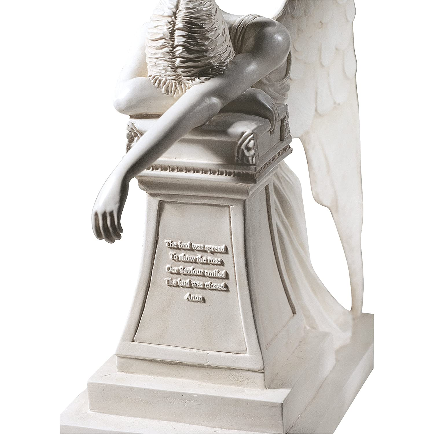 Amazon.com : Design Toscano Angel Of Grief Monument Statue : Outdoor Statues  : Garden U0026 Outdoor