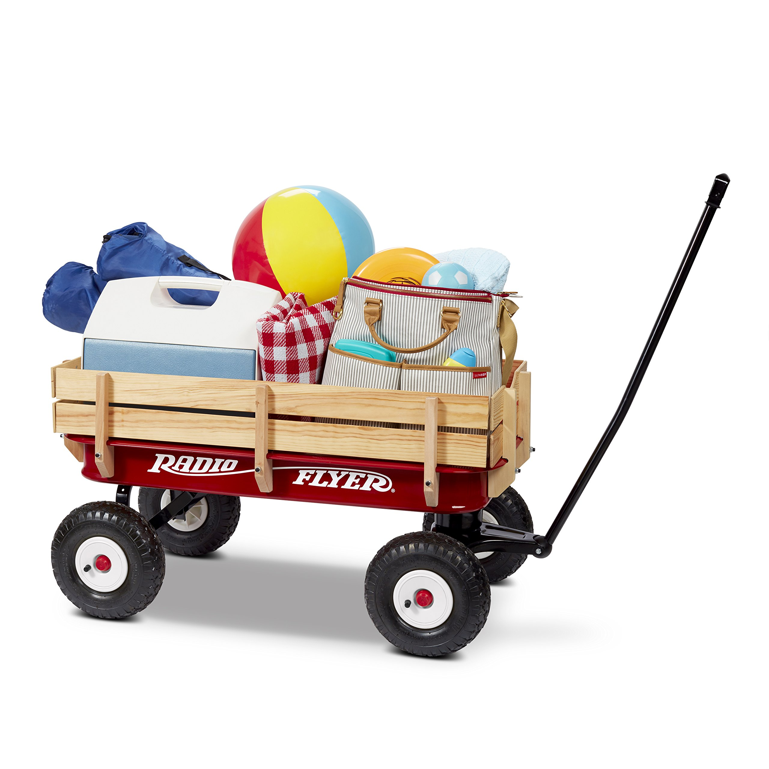 Radio Flyer Full Size All-Terrain Steel & Wood Wagon by Radio Flyer (Image #5)