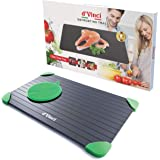 d'Vinci Premium Defrosting Tray (Largest Size) – Naturally Thaw ALL Your Frozen Food in Minutes