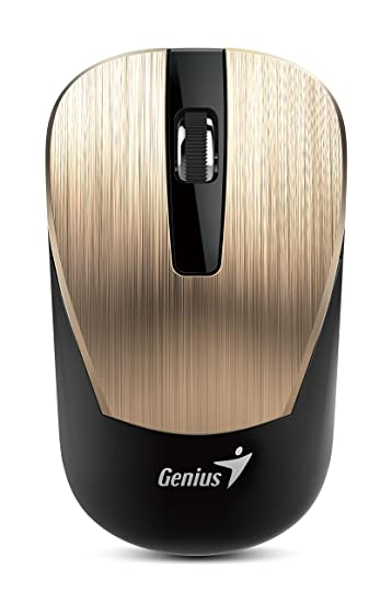 d9a24b650bf Amazon.in: Buy Genius 7 Series Metallic Comfortable Stylish Wireless Mouse  (NX-7015/GOLD) Online at Low Prices in India | Genius Reviews & Ratings