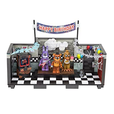 McFarlane Toys Five Nights at Freddy's Show Stage 'Classic Series' Large Construction Set: Toys & Games