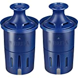 Brita Longlast Replacement Water Filter for Pitchers, 120 gallon each water filter with 99% lead removal, 2ct
