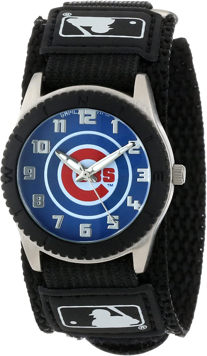 Game Time Youth MLB Rookie Black Watch - Chicago Cubs