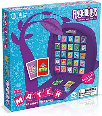 Top Trumps 033510 Fingerlings Match - Juego de mesa: Amazon.es: Juguetes y juegos