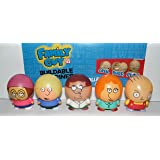 Family Guy Buildable Figure Toy Play Set of 8 with Devil Stewie, Brian, Peter, Lois, Chris and More!