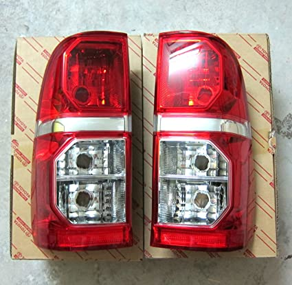Lh Rh Left Right Tail Back Rear Lights Toyota Hilux Vigo Champ 2011 2012 2013