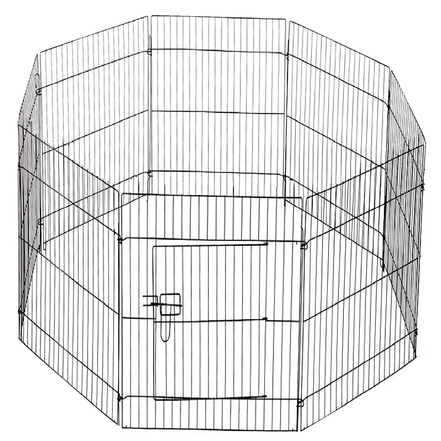BEAGLE YELLOO Modular Fence for Dogs Rodents Metal Rabbits 8 Panels Various Models