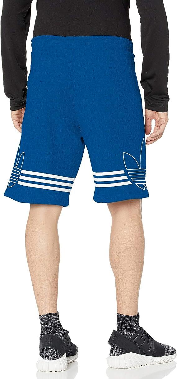 adidas Originals Outline Trefoil - Pantalones cortos para hombre: Amazon.es: Ropa y accesorios