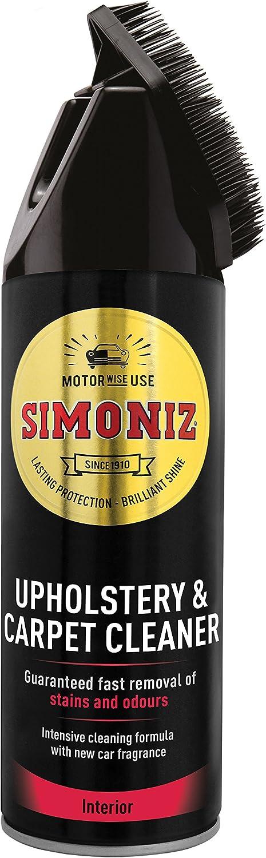 Simoniz Sapp0084 A Polsterreiniger Mit Bürste 400 Ml Auto