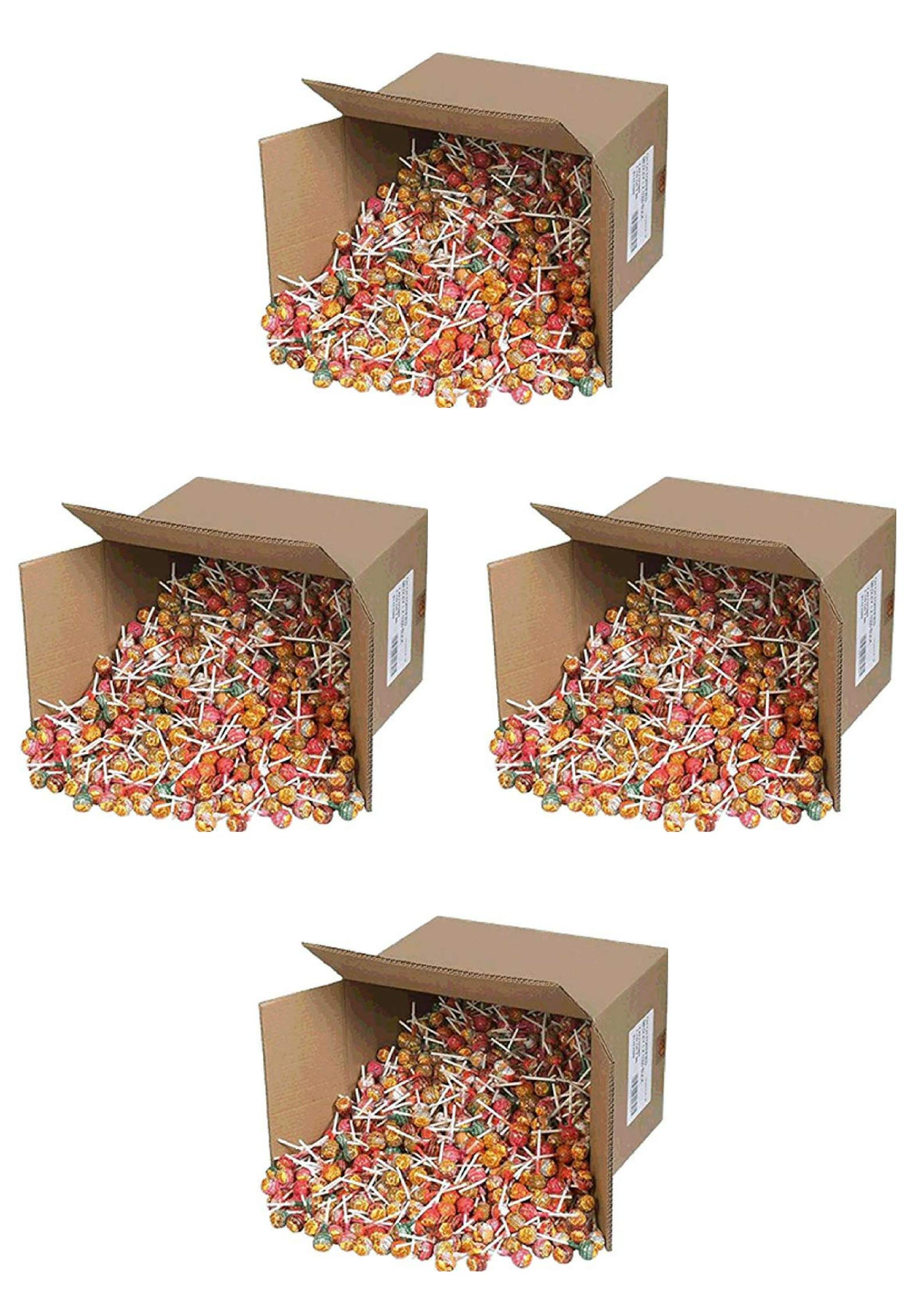 Chupa Chups Lollipops 1000 ct box (4 Pack) by Chupa Chups