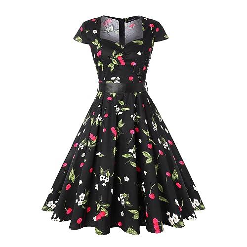 Retro Dresses: Amazon.com