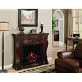 ClassicFlame 33WM881-C232 Lexington Wall Fireplace Mantel, Empire Cherry (Electric Fireplace sold separately)