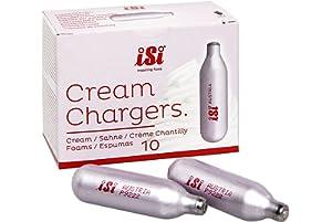iSi 10-Pack N2O Cream Whipper Chargers