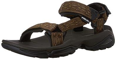 a7771a7a72b Teva Men s Terra Sandal Black  Amazon.co.uk  Shoes   Bags