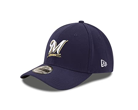 check out 06075 00354 Amazon.com   New Era Milwaukee Brewers Fitted 39Thirty MLB Curve Brim  Baseball Cap 3930   Clothing