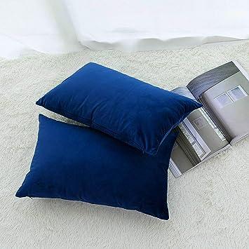 Amazon.com: H.J WeDoo - Juego de 2 fundas de almohada ...