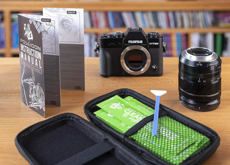 Kit húmedo de Limpieza para Sensor de cámara: 10 hisopos de 16 mm ...