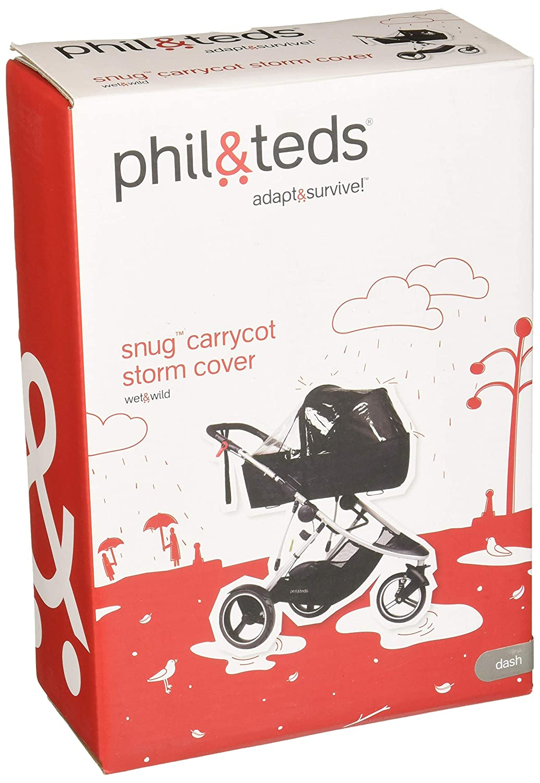 Phil /& Teds Dash Regenschutz f/ür Babyschale