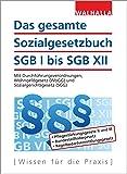 Das gesamte Sozialgesetzbuch SGB I bis SGB XII Ausgabe 2017/I