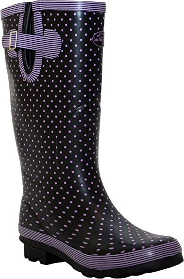 NEW WOMENS LADIES SNOW RAIN FESTIVAL WELLIES WELLINGTON WATERPROOF ANKLE BOOTS