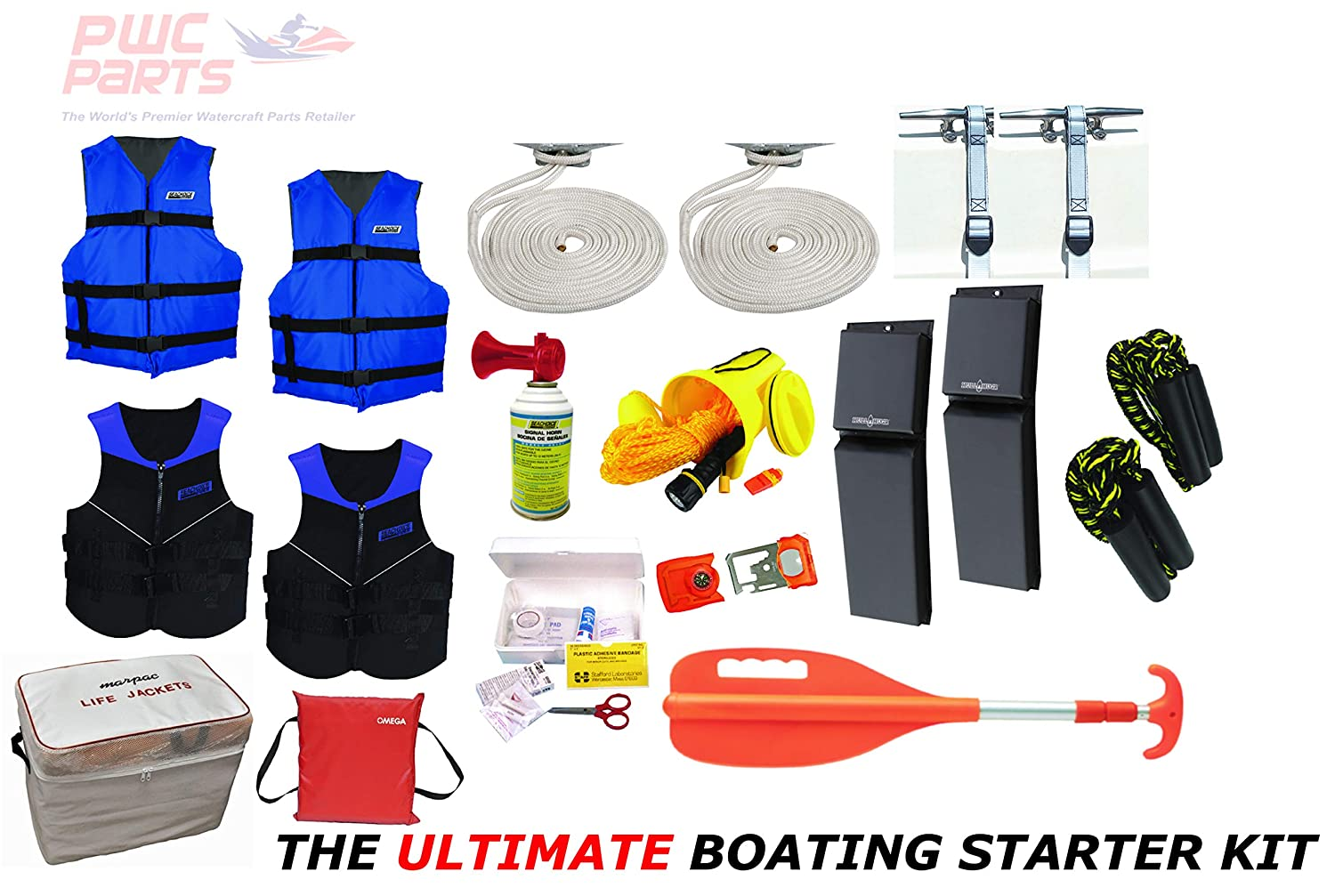 Amazon com : PWC Parts Ultimate Boating Starter Kit for All