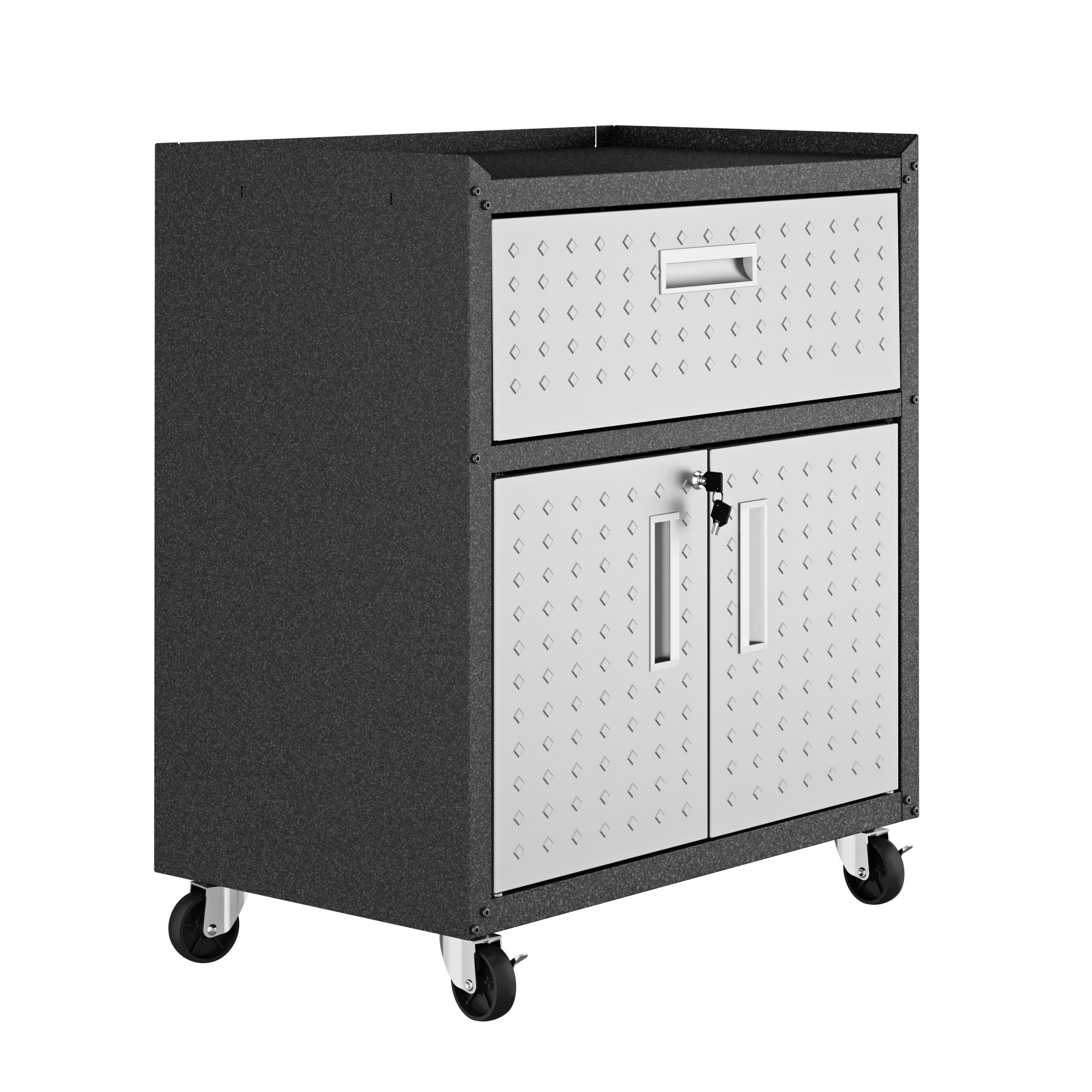 Manhattan Comfort 2GMCC Fortress Rolling Cabinet