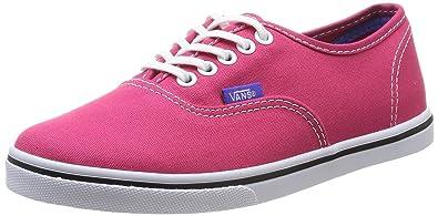 Vans U Authentic Lo Pro Vw7Nfka, Baskets mode mixte adulte - Rose (Rose Red/Purple Iris), 35 EU (4 US)