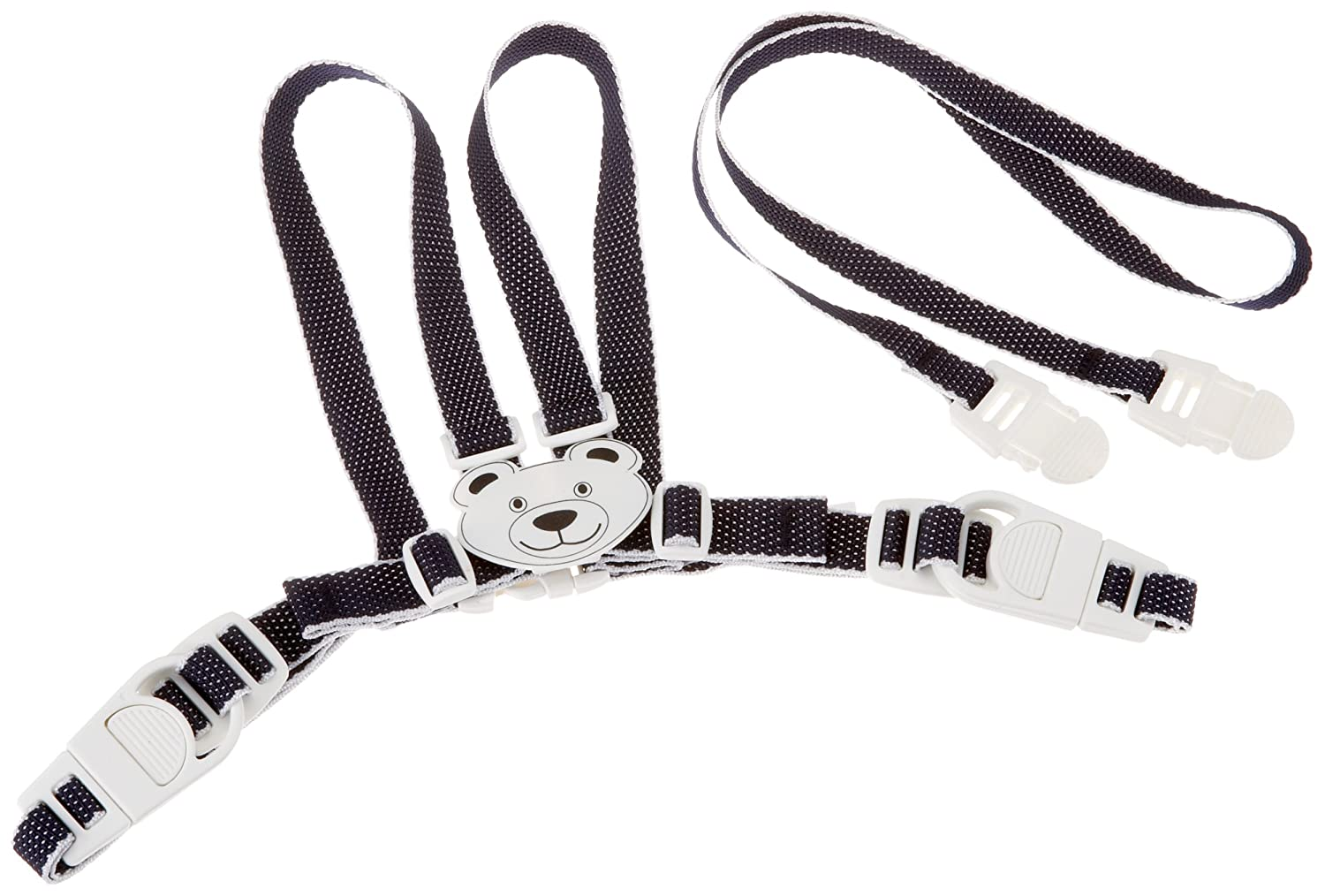 Clippasafe Easy Wash Harness & Reins (Character Navy White) Clippasafe Ltd CL048 Baby Stroller