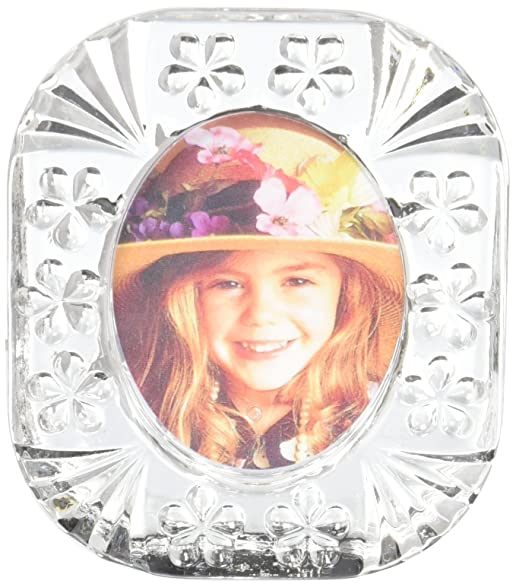 Amazon.com - Fifth Avenue Crystal Picture Frame with Flowers ...