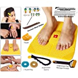 Super India Store Acupressure Power Mat With Magnets Pyramids For Pain Relief And Total Health (Premium)