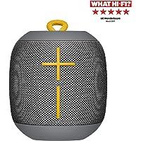 Ultimate Ears WonderBoom Bluetooth Lautsprecher (wasserdichter 360°-Sound) - Steingrau
