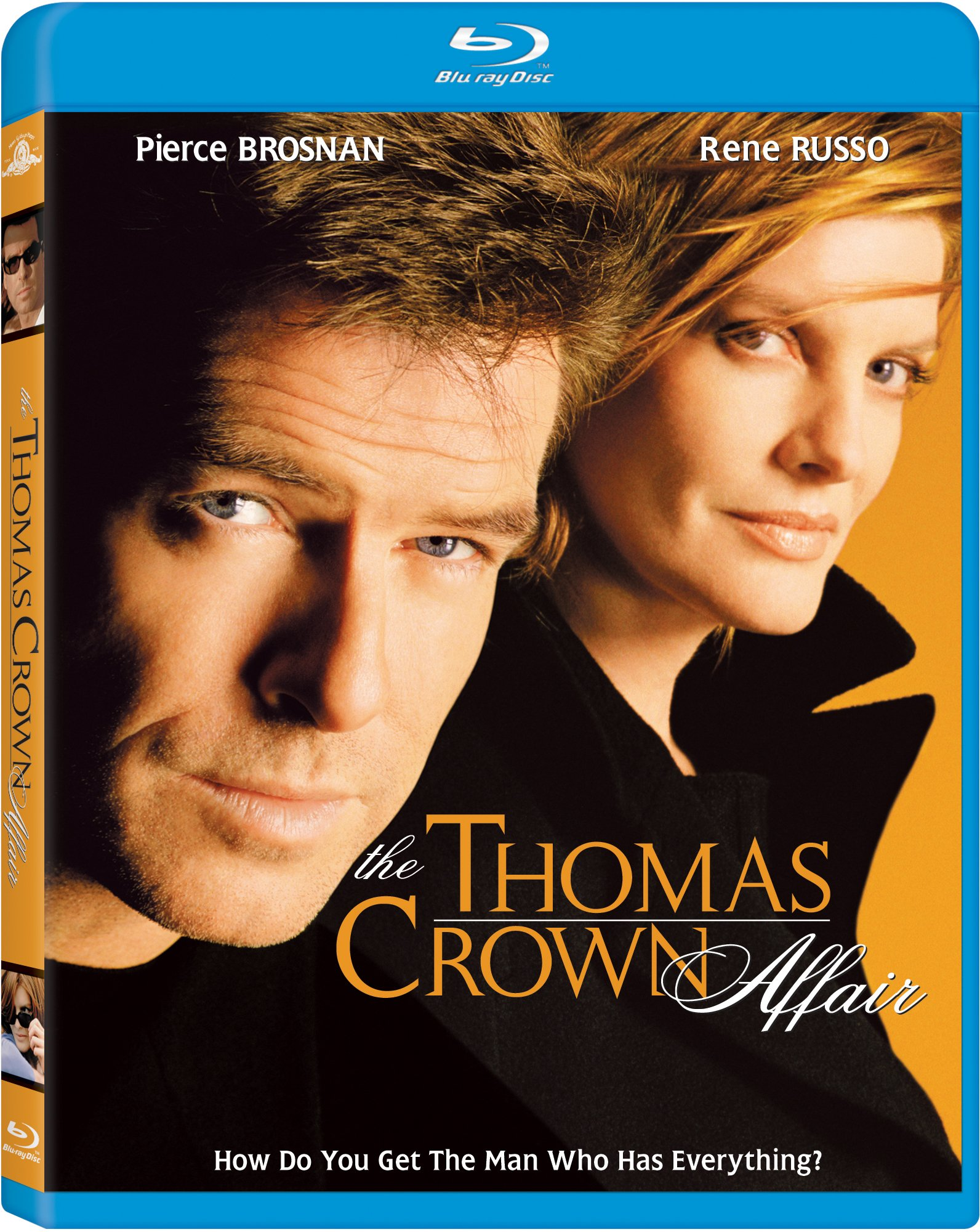 Blu-ray : The Thomas Crown Affair (Pan & Scan)
