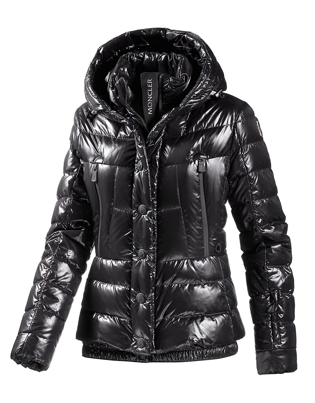 buy online ee135 8c7da Moncler Damen Skijacke schwarz 3: Amazon.de: Sport & Freizeit