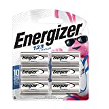 Energizer 123 Lithium Batteries, 3V CR123A