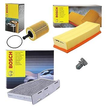 Set S Kraftstofffilter+Innenraumfilter Inspektionspaket SEAT VW