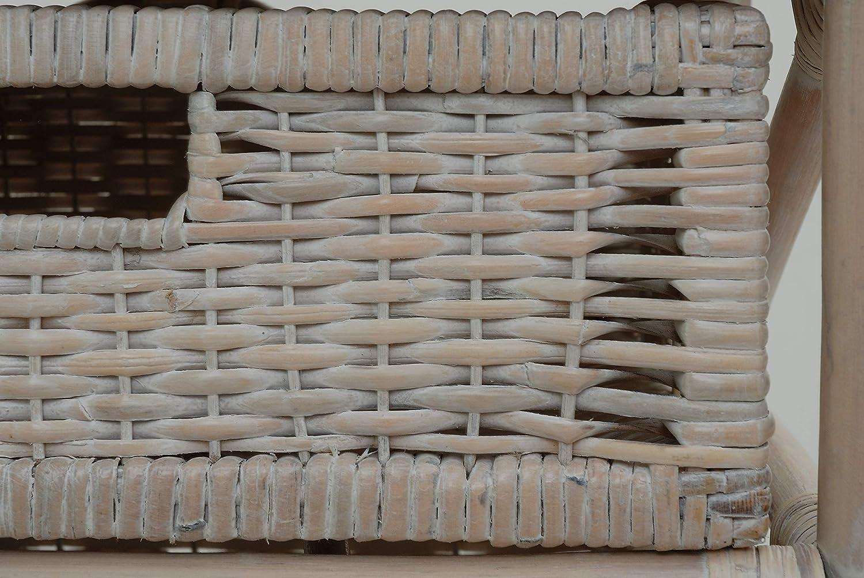Rattan Kommode mit 5 Schubladen Schubladen Schubladen Körben Vintage Weiß Badregal Rattan Korb Regal Weiss gewaschen mit fünf Schubfächern … c1876e