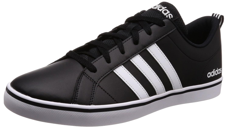 adidas Vs Pace, Scarpe da Ginnastica Basse Uomo, Nero (Core Black/Footwear White/Scarlet), 46 2/3 EU