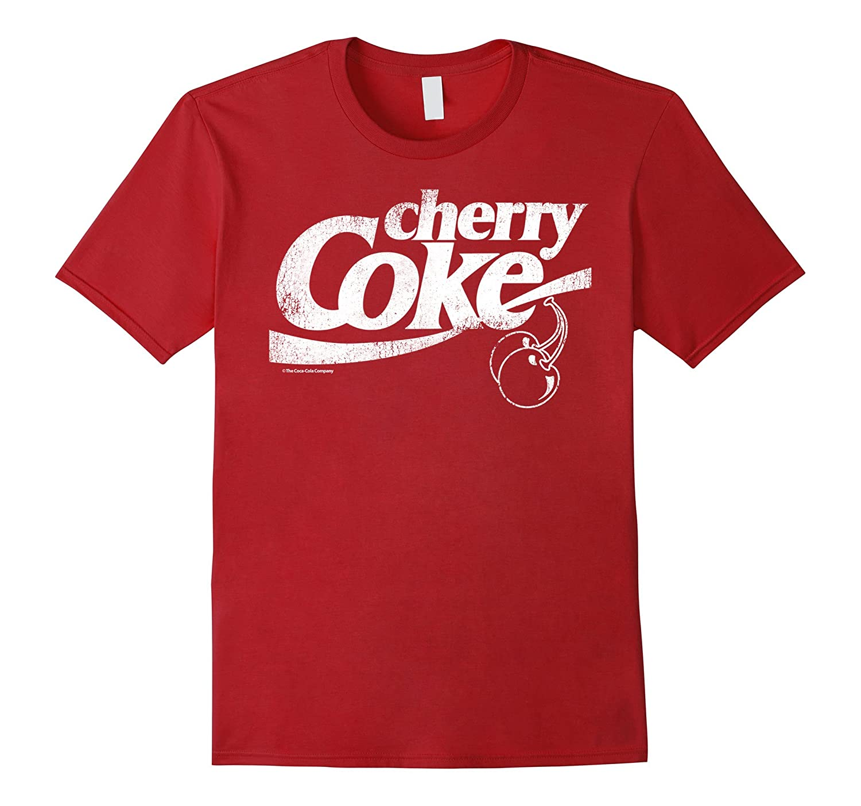 520f9d59 Coca-Cola Vintage Retro Cherry Coke Logo Graphic T-Shirt-FL ...
