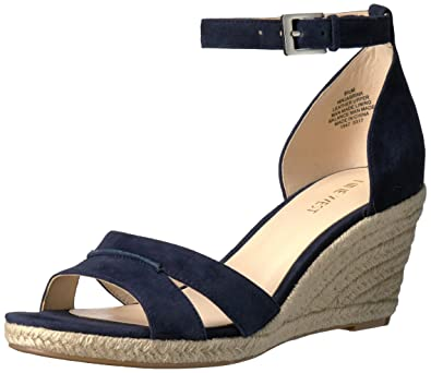 8819653093d Nine West Women s Jabrina Suede Wedge Sandal  Amazon.co.uk  Shoes   Bags