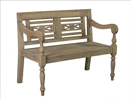Pleasant Amazon Com Crafted Home Elgin Rustic Distressed Bench Uwap Interior Chair Design Uwaporg