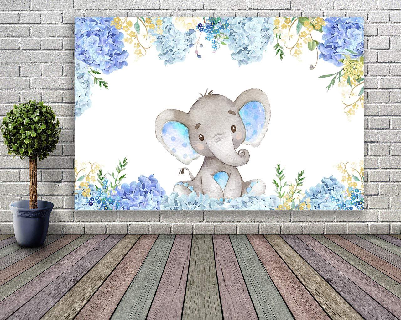 Mehofoto Wild One Backdrop 7x5ft Vinyl 1er Cumplea/ños Selva Safari Fotograf/ía Fondo Bosque Lindo Elefante Primera Fiesta de Cumplea/ños Foto Stand de fondo