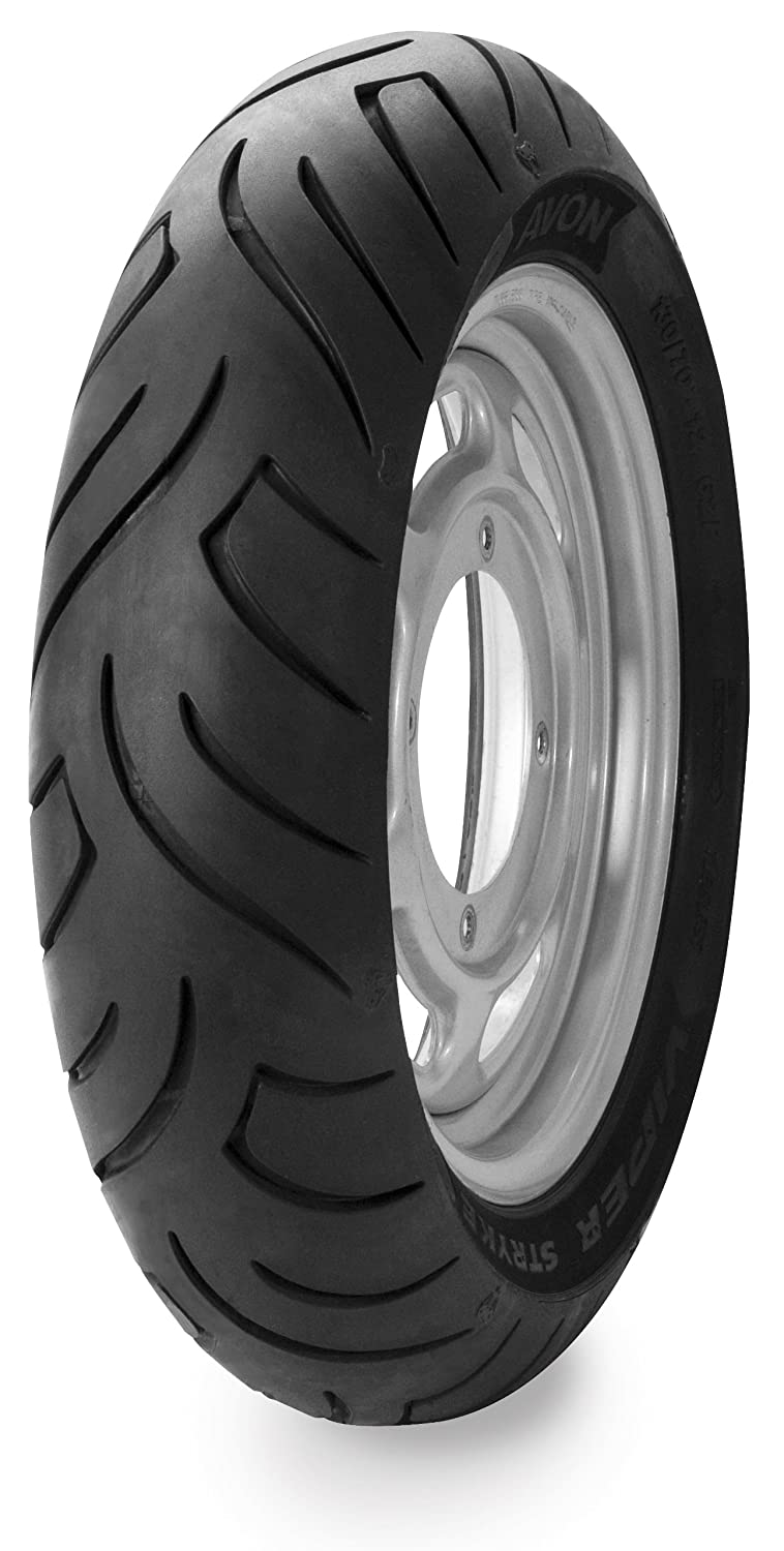 Avon Tyres Viper Stryke AM63 Tire - Rear - 120/80P-16 , Position: Rear, Tire Size: 120/80-16, Rim Size: 16, Tire Type: Scooter/Moped, Tire Construction: Bias, Load Rating: 60, Speed Rating: P 2352111 4333418147