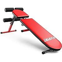 K-Sport: Trainingsbank verstelbaar en inklapbaar, halterbank voor korte en lange haltertraining, krachtstation voor…