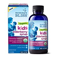 Mommy's Bliss - Organic Elderberry Syrup + Immunity Support - 3 FL OZ Bottle