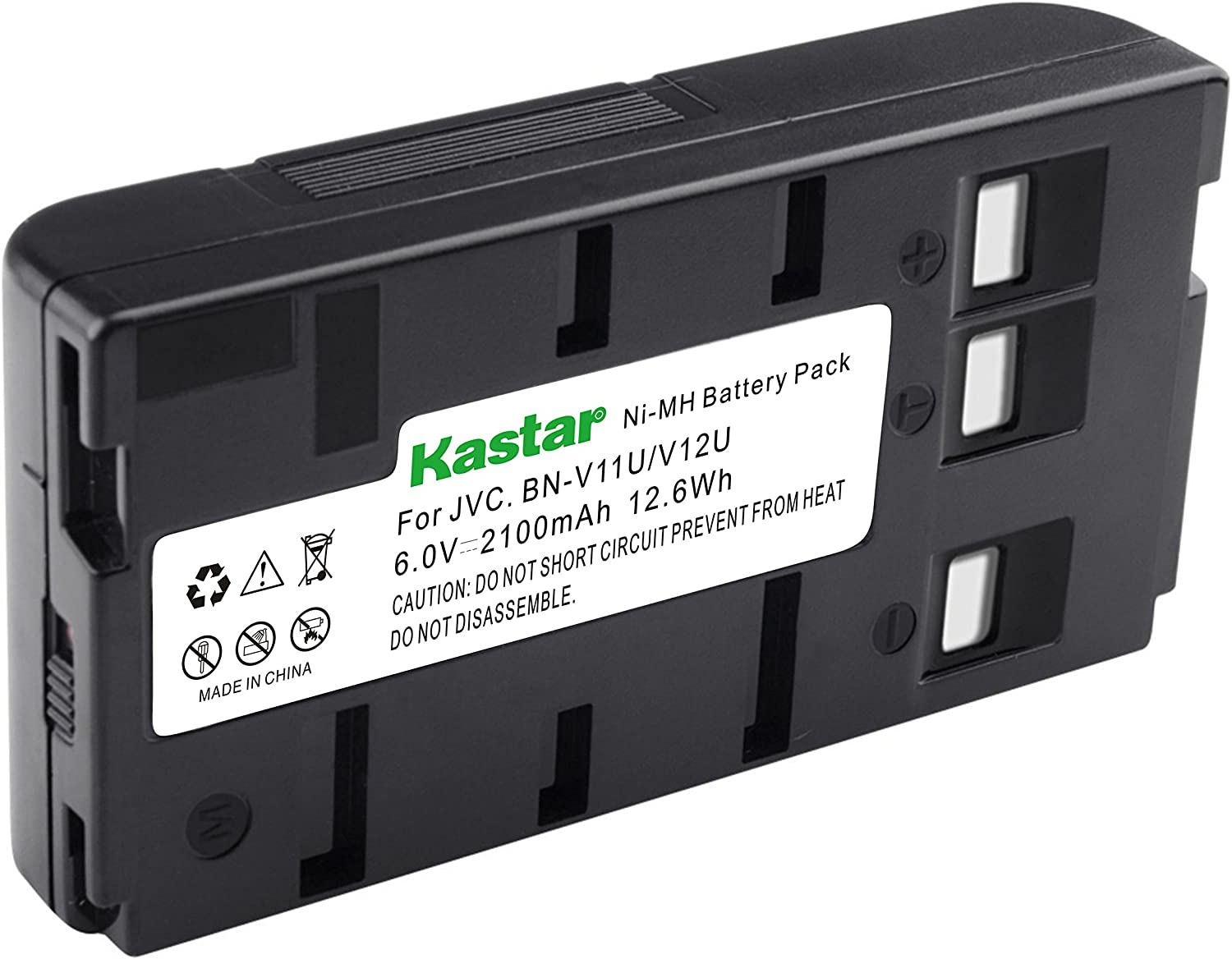 Kastar Video Camera Battery Replacement for Panasonic PV-BP18 PV-BP17 PV-BP15 HHR-V20A//1B HHR-V40A//1B VW-VBH1E VW-VBH2E VW-VBR1E VW-VBR2E VW-VBS1 VW-VBS1E VW-VBS2 VW-VBS2E